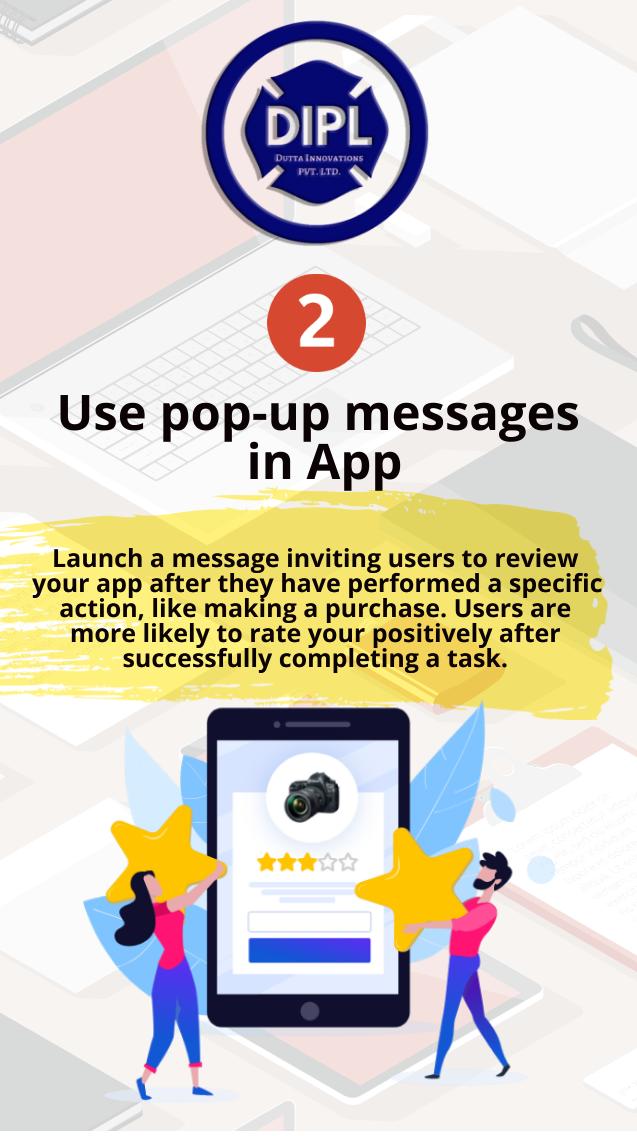 Pop Up Message